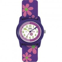 Timex Kids Time Teacher Flower Strap Watch